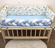 Бортики в детскую кроватку, защитные бортики, стеганные бортики Харків