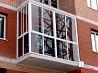 Застіклення балконів, виноси Бориспіль Балконы, лоджии Бориспіль