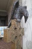 Кельтский крест с вороном Одеса