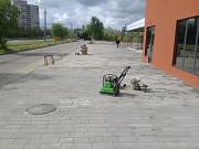 Укладка плитки тротуарной,камня,брущатки,бордюр,отливов, Сумы