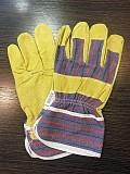 Перчатки кожаные C21 (Латвия) из свиного спилка Київ