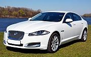Jaguar XF белый 2014 аренда Київ