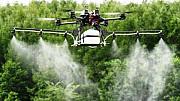 Внесення гербіцида агродроном дельтапланом надлегким літаком гелікоптером Миколаїв