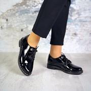 Жіночі туфлі з натуральної лакованої шкіри. Красноград