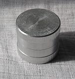 Контейнер алюмінієвий, герметичний для круглої печатки Канів