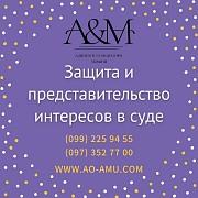 Защита и представительство интересов в суде Харків