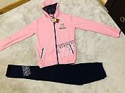 Спортивный костюм на девочку сезон весна-осень размер Стрий
