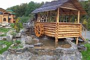 Дизайн території заміського будинку від дизайн студії Романа Москаленка Чернівці