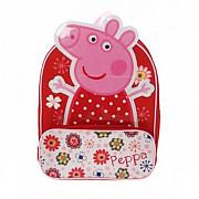 Рюкзачок мини Peppa Pig (Свинка Пеппа) для девочки, в цветочек Харків