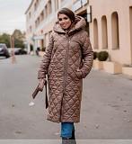 Пальто женское цвет какао Одеса