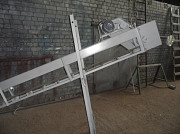 Шнековый и ленточный транспортер для подачи или выгрузки зерна Харьков
