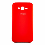 Чехол Silk Silicon для Samsung Galaxy J7 2015 J700/J7 Neo J701 Red (PC-003073)