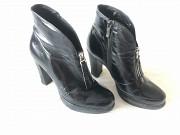 черевики весняно-осінні чорні/шкіра Луцьк