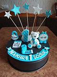 Фигурки из мастики для тортов на торт на годик крещение детский торт Суми