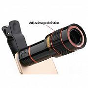 Объектив, камера, линза, телескоп для смартфона iPhone Sumsung Huawei Київ