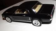 шикарное авто - модель Ford Mustang 1964 1/2 чёрный Харків
