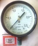 Манометр 0-2,5 МРа. ДМ1001. Запоріжжя