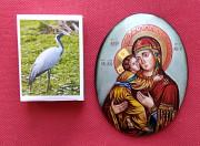 Образок Вставка в икону. Финифть. Кам'янець-Подільський