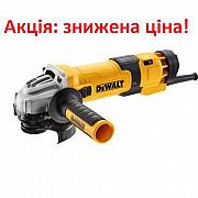 Акція на болгарку DeWALT DWE4257, 125 мм, 1500 Вт, 2800-10000 об/хв, 2.6 кг, 3 роки гарантії. Луцьк