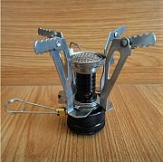 Газовая складная минигорелка с пьезоподжигом. Золотоноша