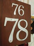 Цифры номерки на двери Житомир
