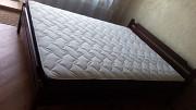 Ліжко з дерева + ортопедичний матрац 160*200 см. Нові. Доставка Львів