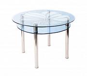 стіл скляний круглий КС-3 Вінниця