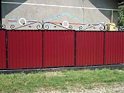 Заборы с профнастила на заказ в Николаеве и Николаевской области. Миколаїв