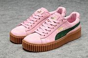 Кроссовки Puma Rihanna Fenty Suede Creepers Pink/Green Запорожье