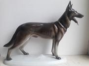 Фарфоровая статуэтка овчарка Gotha Pfeffer Германия 1934-42гг Львів