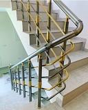 Алюминиевые перила для лестниц Киев
