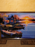 Картина Алмазна вишивка Червоноград