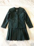 шкільна форма для дівчинки зеленого кольору(піджак+сарафан) Луцьк
