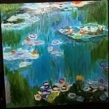 Картина «Водяные лилии» - масло, холст. Размер 40*40 см Миколаїв