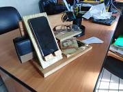 Подставка - органайзер для телефона из дерева своими руками Кременчук