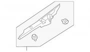 Уплотнитель крыла капот крыло правое Chevrolet Volt 11-15 22774562 Тернопіль