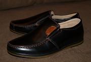 Качественные кожаные туфли / мокасины для мальчика Кропивницький