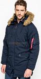 Куртка аляска Altitude Parka Alpha Industries (синяя) Львів
