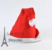 Шапка Деда Мороза с рисунком Хмельницький