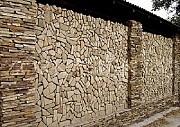 Мозаика окатанная из песчаника Хрустальный