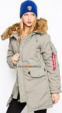 Женская куртка парка Altitude W Parka Alpha Industries (alaska green) Одеса