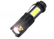 Суппермощный светодиодный фонарь с регулировкой ZOON яркость 3800LM Запоріжжя