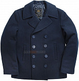 Пальто бушлат Navy Pea Coat Alpha Industries (синее) Львів