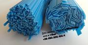 Пластиковые прутки РР синие синий синій полоса треугольник пайка пластика сварка бампера радиатора Київ