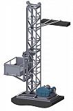 Н-40,43 м, г/п 1 тонна. Строительный Мачтовый Секционный Подъёмник для отделочных работ. Полтава