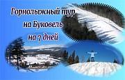 Туры в Буковель: на 7 дней (Недельных активный тур) Дніпро