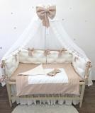 Комплект бортиков в детскую кроватку, люльку, колыбель, бортики подушечки, защита в детскую кровать Харків