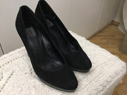 Туфли чёрные Kelvin Clean оригинал натзамш р 38 стелька 25 см б/у 950грн Дніпро