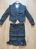 Новый костюм пиджак с юбкой р. 122 Одеса