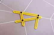 Шаблометр, лінійка-шаблон для укладки плитки, кафелю, паркету, тощо. Шаблонометр. Коломия